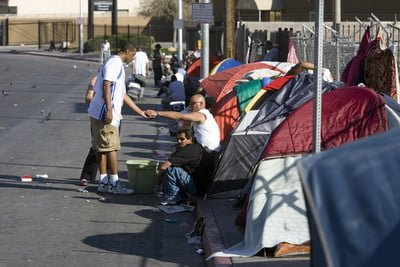 Tent City Las Vegas