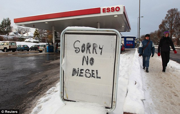 Out of Fuel in the UK