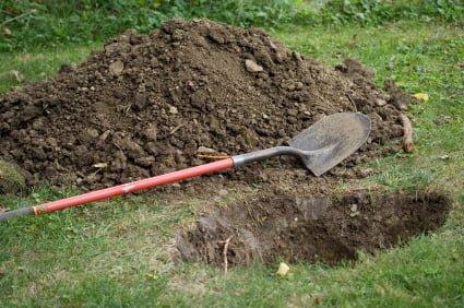 The Shovel and Hole Maneuver For Hiding Gold, Guns and ...