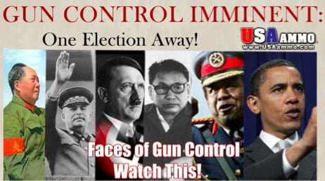 Faces of Gun Control: New Ad Compares Obama to Hitler, Stalin, Mao – Cites Genocide of 60 Million People  guncontrol