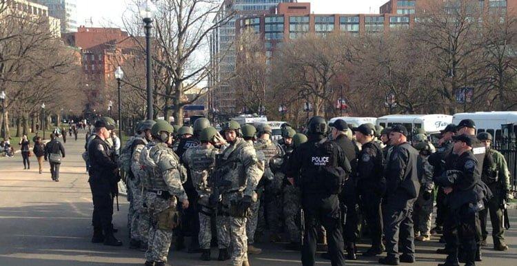National Guard Deployed in Boston