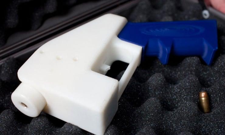 США.  Американской некоммерческой организации Defense Distributed удалось создать работающий образец огнестрельного...