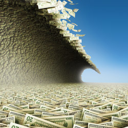 money-tidal-wave