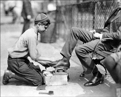 shoeshineboy