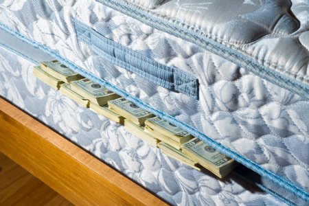 money-mattress