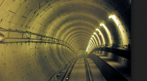 Image result for underground tunnels in california us navy