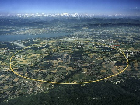 Will The Large Hadron Collider Open Up A Portal To Another Dimension?