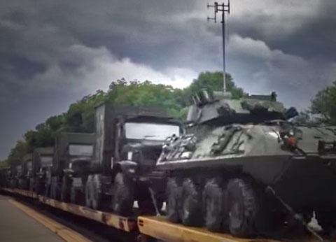 military-train