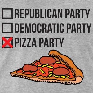 republican-party-vs-democratic-party-vs-pizza-part-t-shirts-men-s-premium-t-shirt