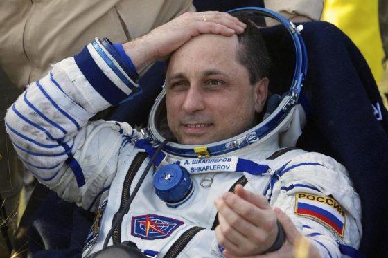 Russian cosmonaut, Anton Sklerov