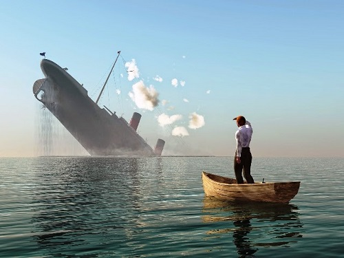 The Global Economy Was Sinking Long Before The Coronavirus Appeared Economy-sinking-ship