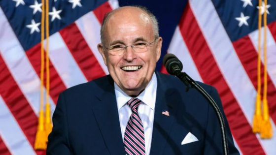 Rudy Giuliani Sued by Dominion Voting Systems For Defamation