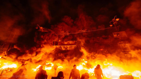 """Virus Unrest Turns Violent As Serbs Protest Being """"Lied To For Political Ends"""""""