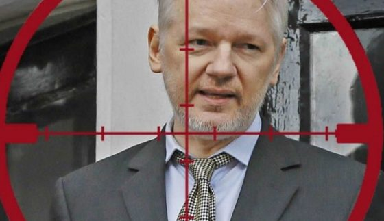 THE DEEP STATE IS ASSASSINATING JULIAN ASSANGE Asange-target-e1571918391447