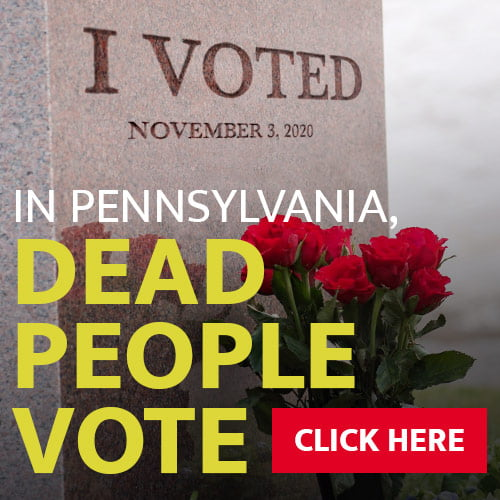 Future Money Trends - In Pennsylvania, dead people vote!